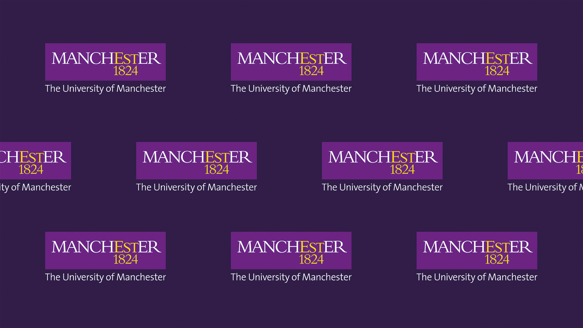 Zoom Backgrounds University Brand Staffnet The University Of Manchester